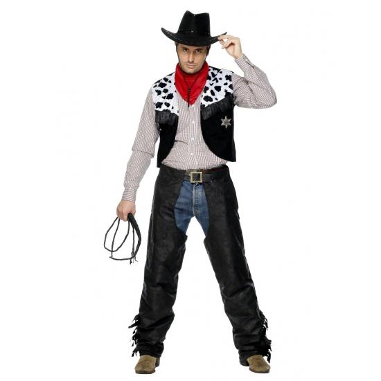 Image of Heren Cowboy pak carnaval