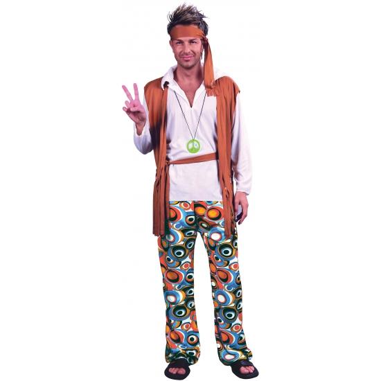 Image of Hippies verkleedkleding voor mannen