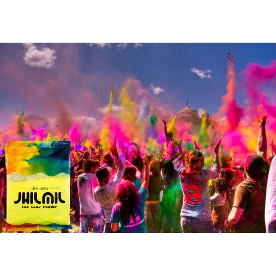 Image of Holi color kleurpoeder geel
