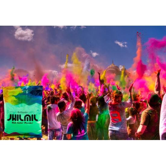 Image of Holi color kleurpoeder groen