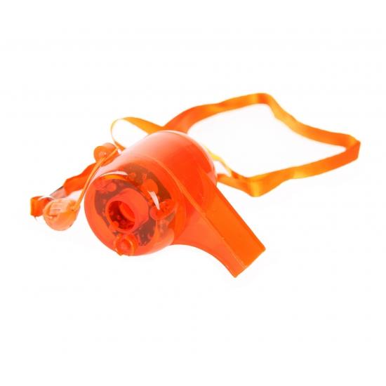 Holland fan oranje fluitje met licht