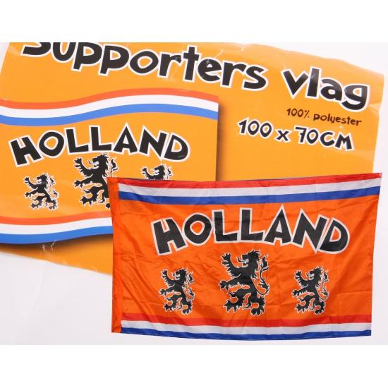 Holland fan vlag 100 x 70 cm