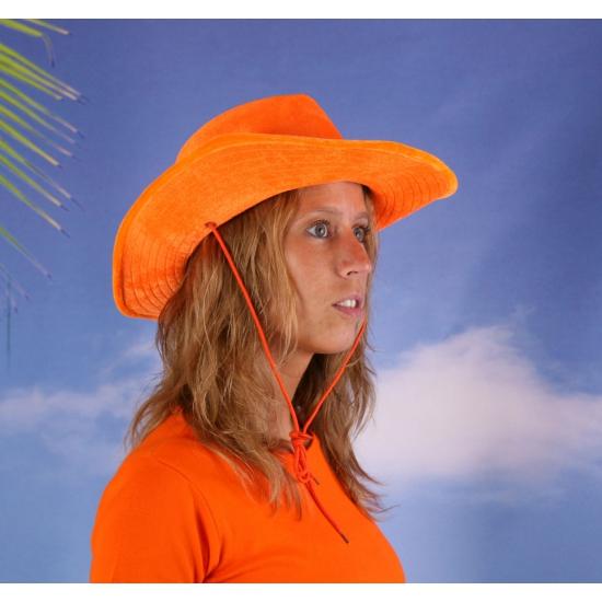 Image of Holland hoed oranje cowboyhoed