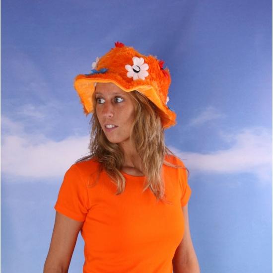 Image of Holland hoed oranje dameshoed