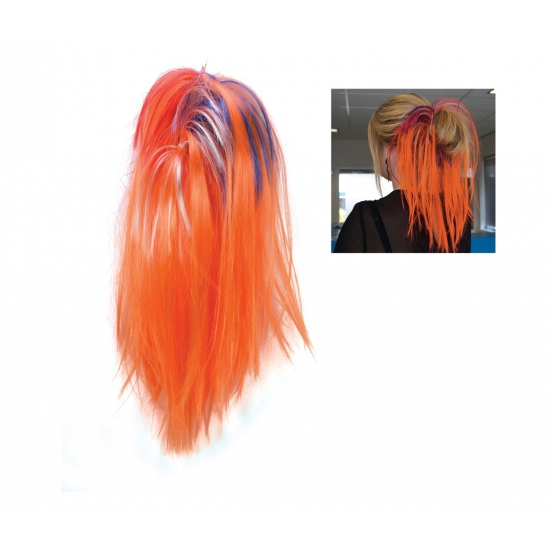 Image of Holland supporters oranje haar