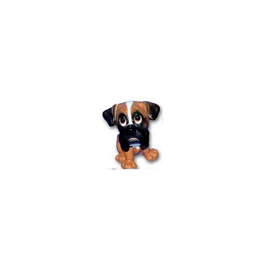Image of Honden beeldje Boxer puppie 13 cm