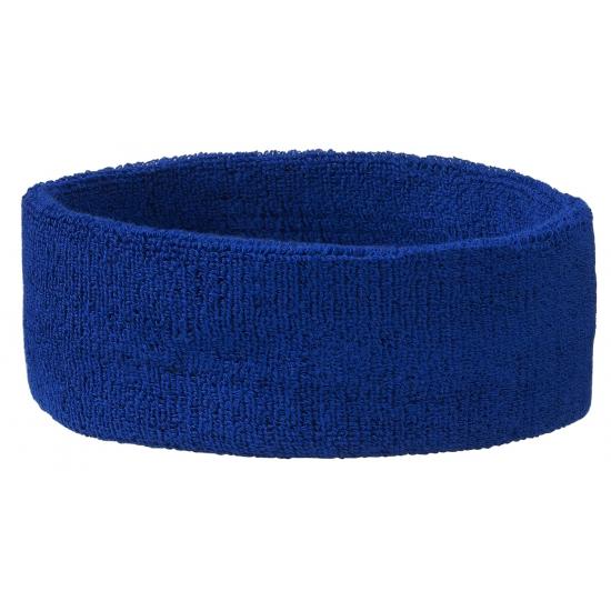 Image of Hoofd zweetbandje in blauwe kleur
