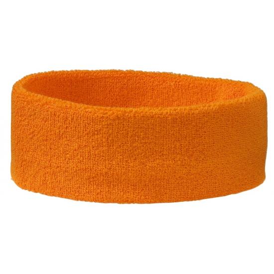 Hoofd zweetbandje in oranje kleur
