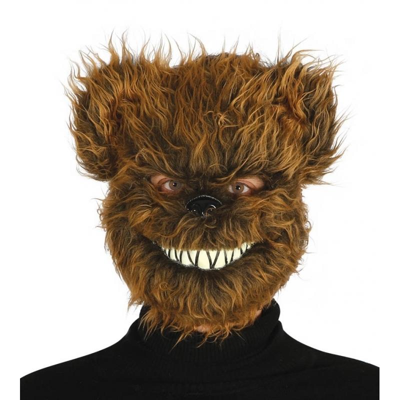 Image of Horror beren masker voor volwassenen