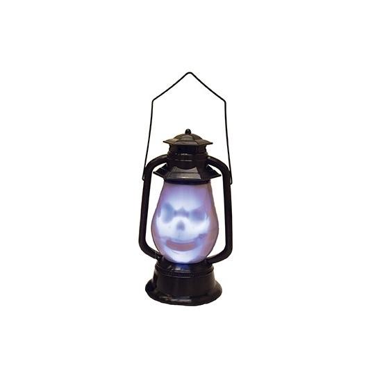 Horror lantaarn met doodshoofd