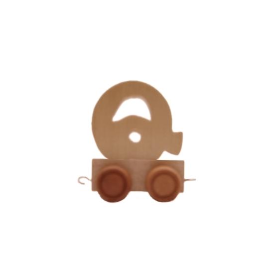 Image of Hotuen trein met de letter Q
