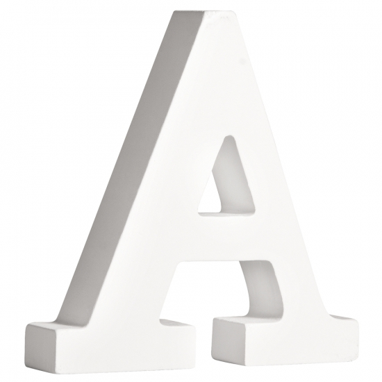 Image of Houten letter A 11 cm
