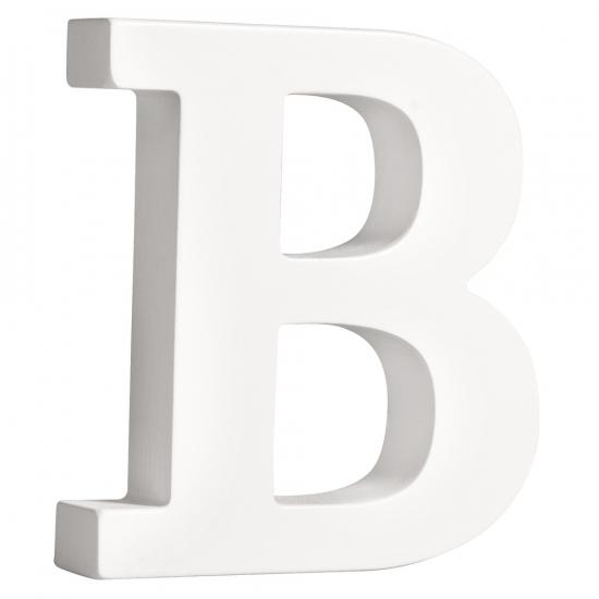 Image of Houten letter B 11 cm