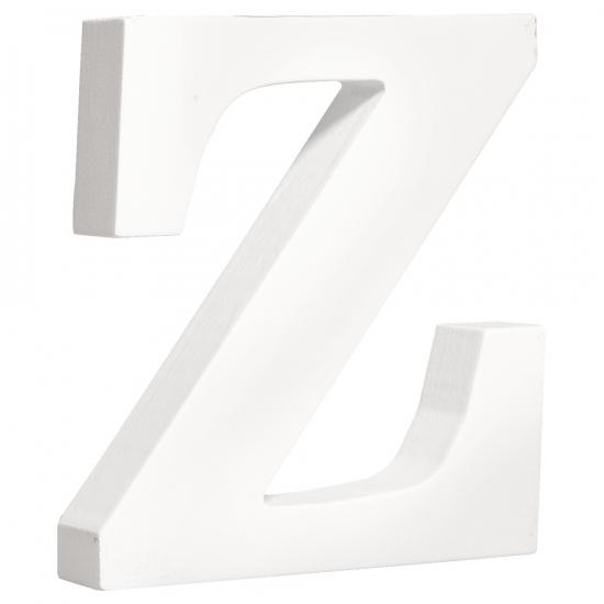 Image of Houten letter Z 11 cm