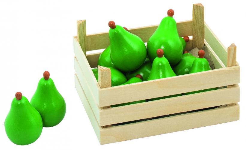 Image of Houten tomaten met kist