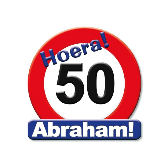 Image of Huldeschild decoratie Abraham 50