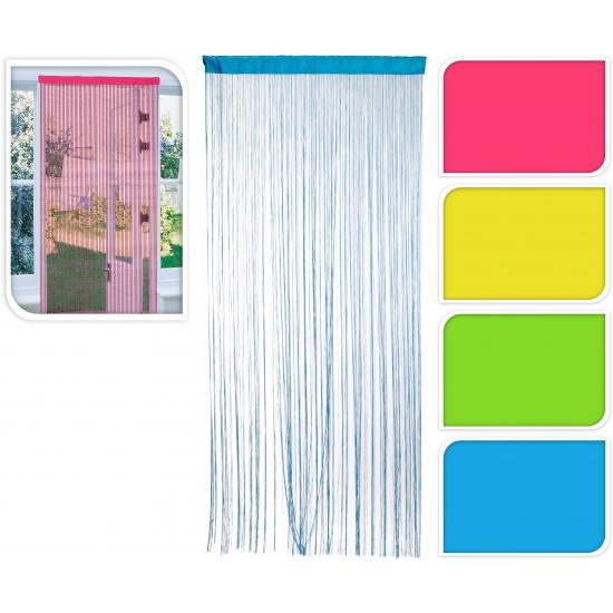 Image of Insecten deurgordijnen roze 90 x 200 cm