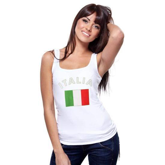 Image of Itali? tanktop met Italiaanse vlag print voor dames