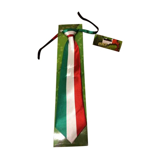 Image of Italiaanse vlag stropdas