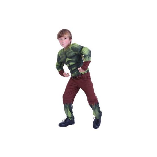 Image of Jongens groene superheld kostuum