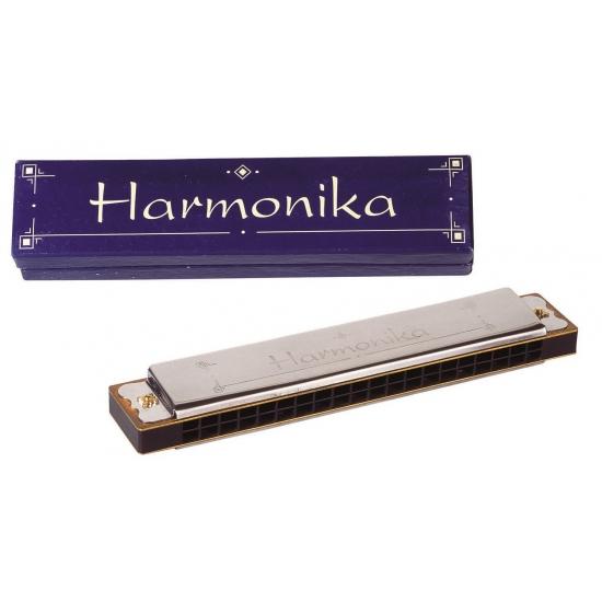 Kado mondharmonica in doosje