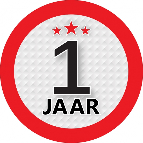Image of Kadosticker 1 jaar