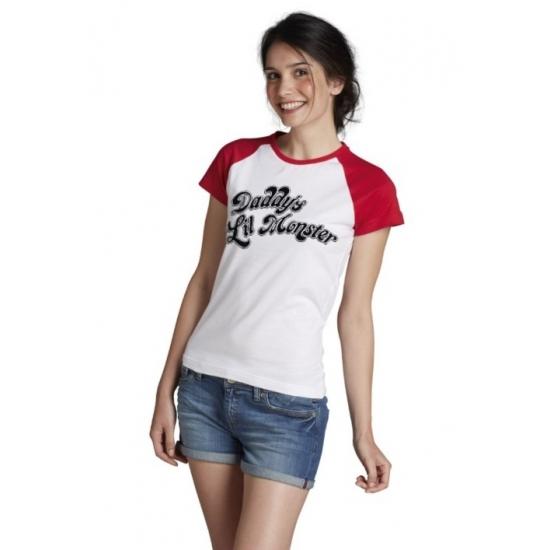 Image of Katoenen Harley Quinn verkleedoutfit voor dames