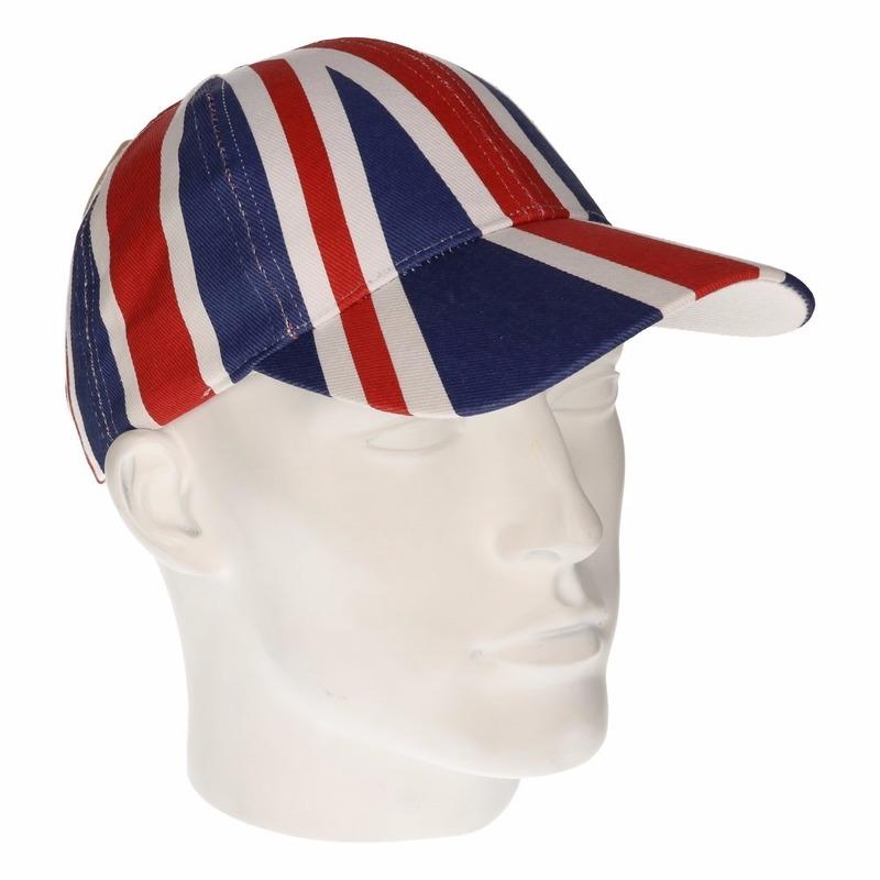 Image of Katoenen pet met de Engelse vlag