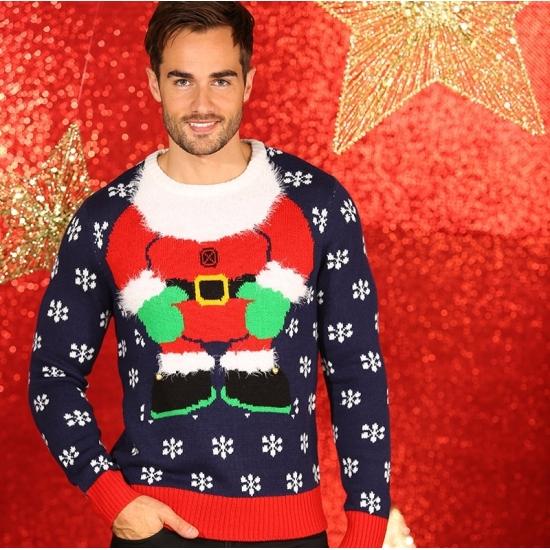 Image of Kerst kado foute kersttrui kerstelf voor mannen