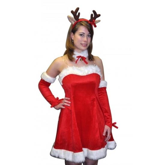 Kerst verkleedkleding sexy rendier voor dames