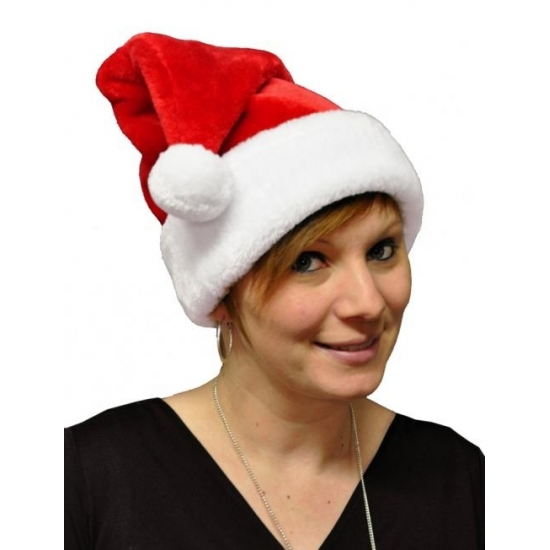 Image of Kerstmuts met pompon