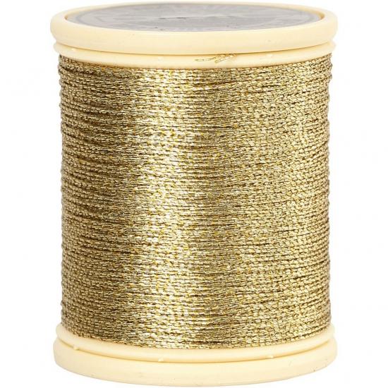 Image of Kerstversiering draad goud