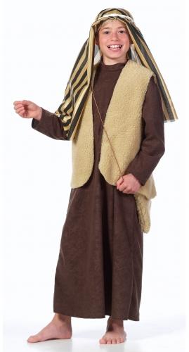 Jozef kostuum voor kinderen. compleet jozef kostuum voor kinderen bestaande uit een tuniek, vest, hoofddoek ...