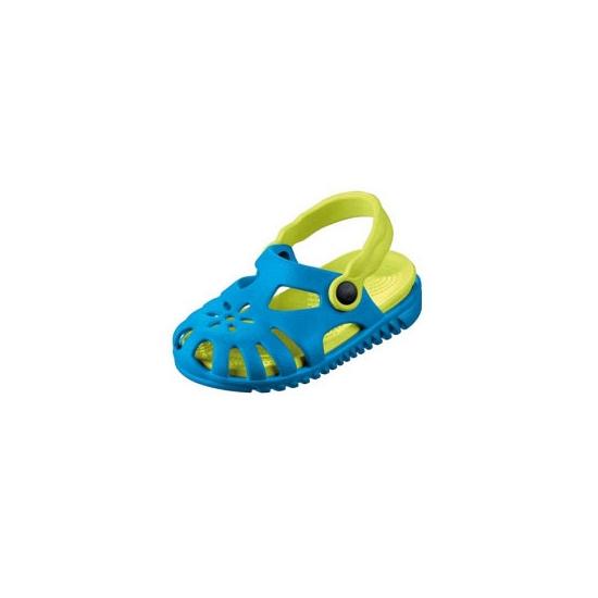 Image of Kids zwembad schoentjes blauw met lichtgroen