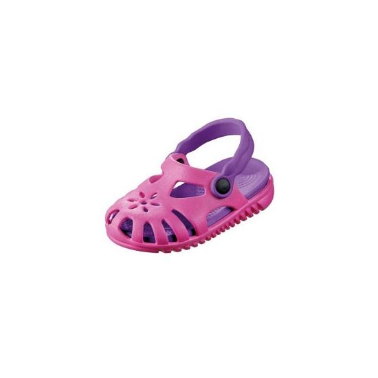 Image of Kids zwembad schoentjes roze met paars