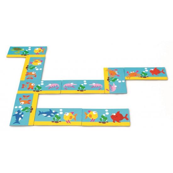 Image of Kinder domino spel oceaan