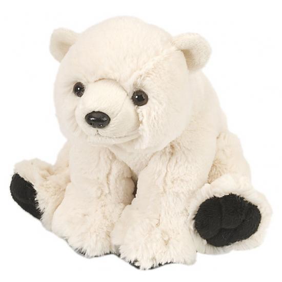 Image of Kinder knuffel ijsbeer 20 cm