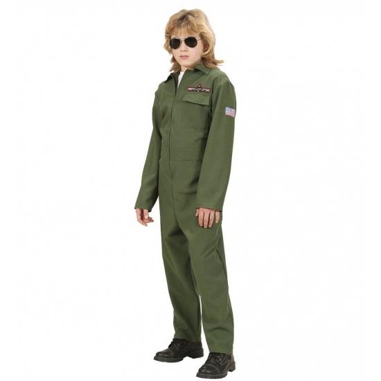 Gevechtspiloot kostuum voor kinderen. wordt een echte gevechtspiloot met dit piloten kostuum. dit gevechts ...