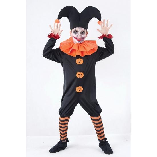 Nar kostuum voor kinderen. dit kwade nar kostuum is super leuk als outfit tijdens halloween en bestaat uit de ...