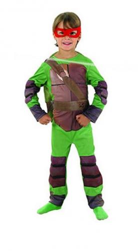 Image of Kinder Michaelangelo Ninja Turtle kostuum
