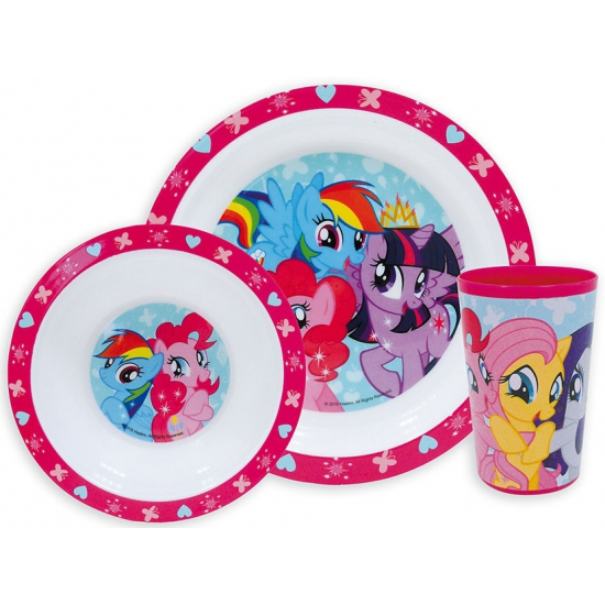 Image of Kinder ontbijt set My Little Pony