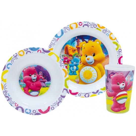 Image of Kinder ontbijt set troetelberen