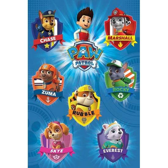 Image of Kinder posters van Paw Patrol