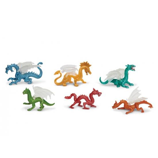 Image of Kinder speel draken 6 stuks