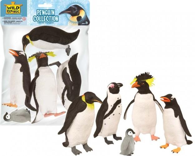 Image of Kinder speeldieren plastic pinguins