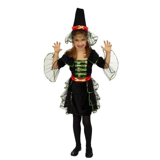 Image of Kinder verkleedkleding heks
