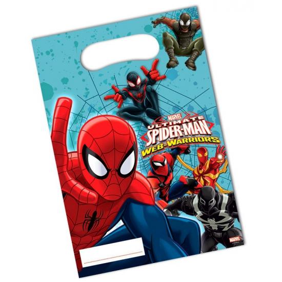 Image of Kinderfeestje Spiderman uitdeelzakjes
