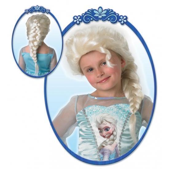 Kinderpruik Elsa uit Frozen (bron: Oranjeshopper)