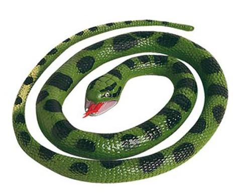 Image of Kinderspeeldieren plastic anaconda