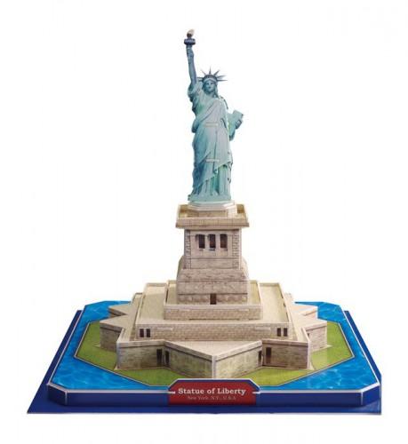 Image of Kinderspeelgoed 3D vrijheidsbeeld puzzel